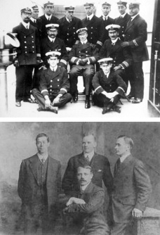 Titanic surviving Officers
